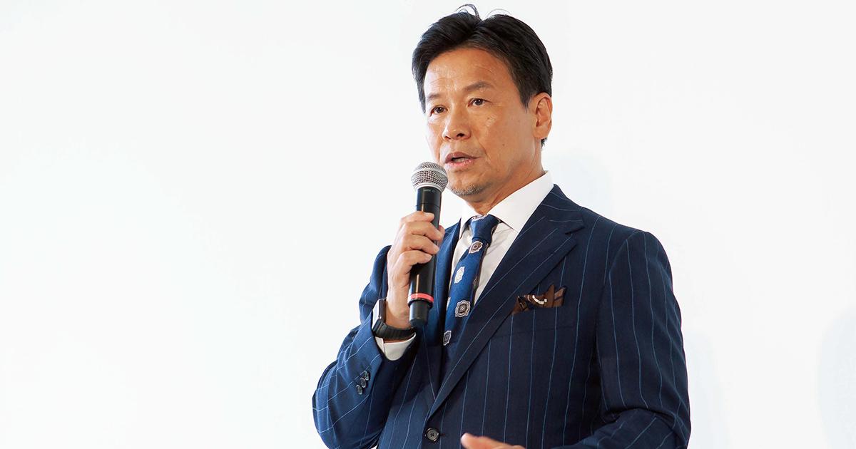 三陽商会・岩田社長のプレゼン分析 厳しい経営状況を新事業で打開へ