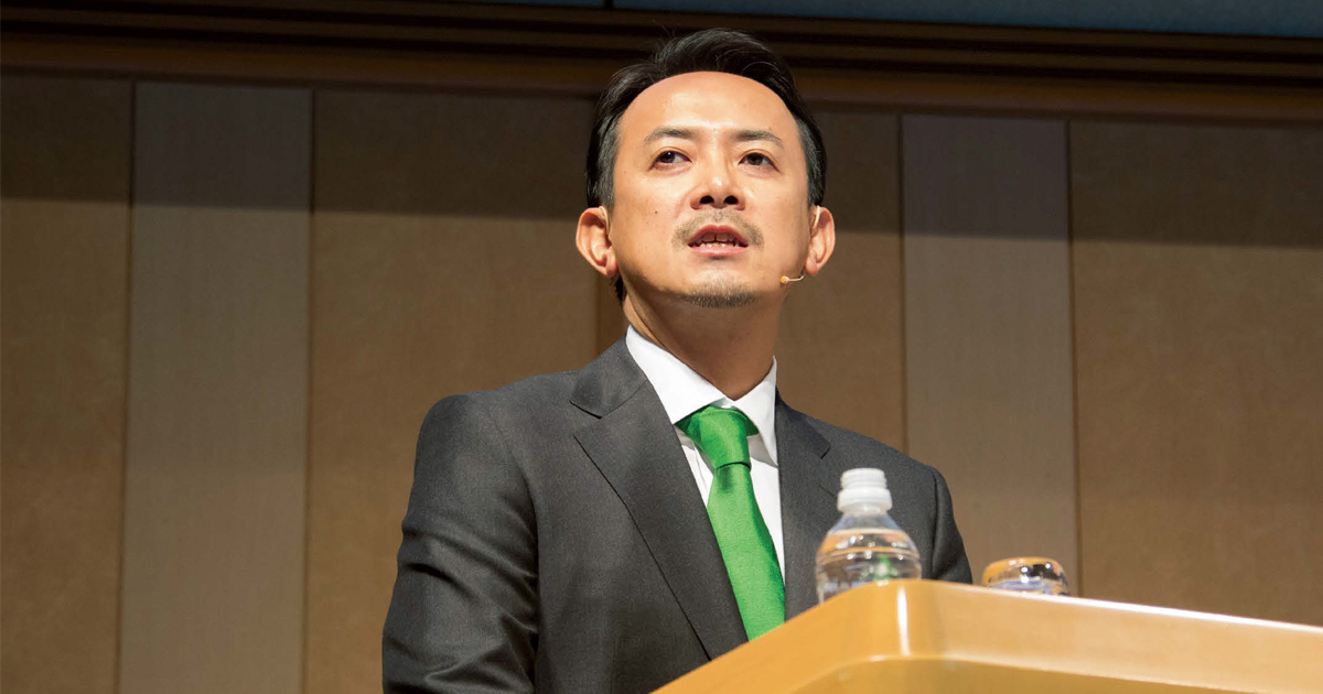 ヤフーとLINE緊急会見 川邊健太郎社長のプレゼンを分析