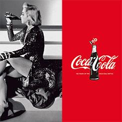 往年スターとポスターで共演!? コカ・コーラのボトル生誕100周年キャンペーン
