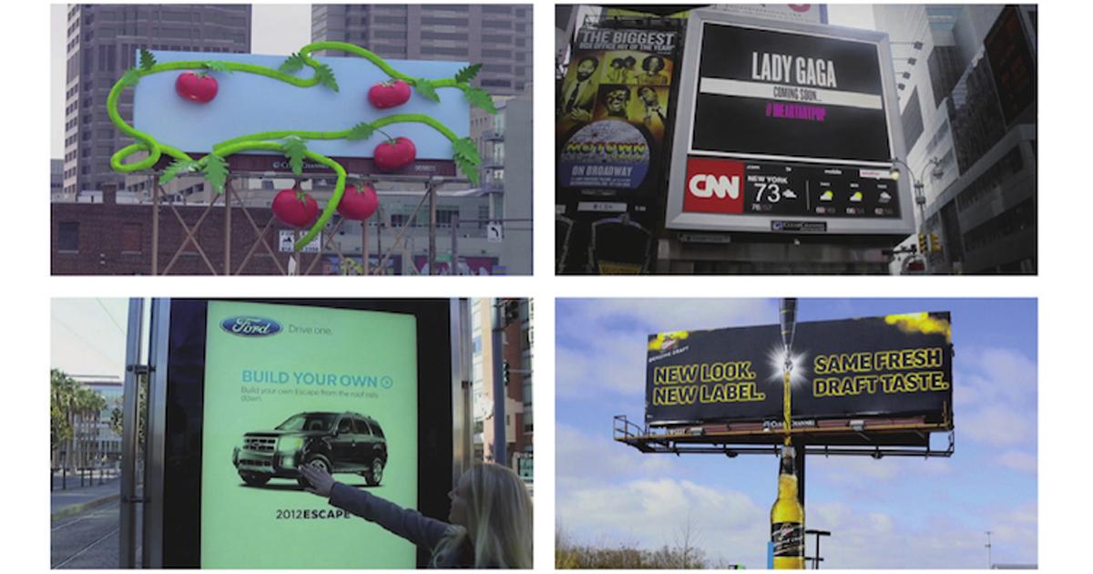 注目度上昇中、屋外広告の新たな可能性