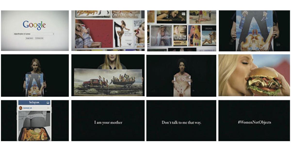 真の女性像を描いたキャンペーン
