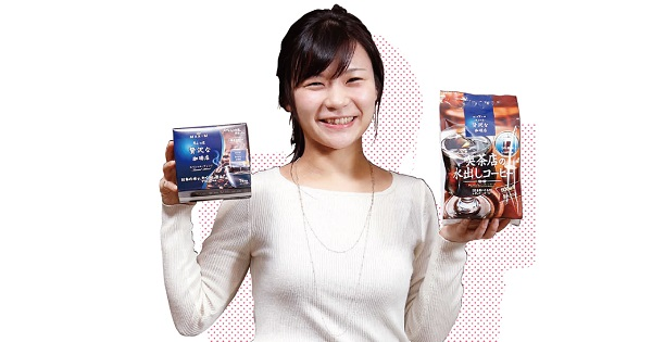コーヒーを淹れて楽しむ習慣をつくる、AGF若手マーケターの挑戦