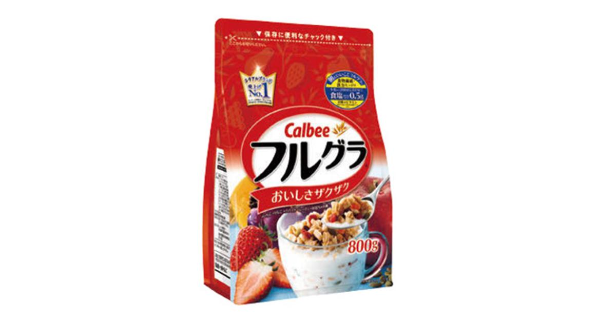 カルビー フルグラ、「朝食市場」参入で売上が35億から300億円規模へ