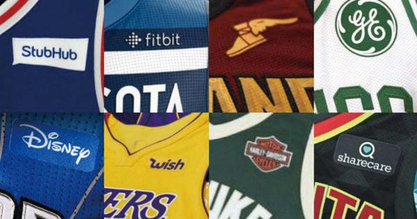 米4大プロスポーツ初でユニフォーム広告を解禁したNBA