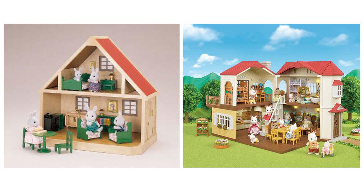 シルバニアファミリー 赤い屋根をメインに35周年 3世代で遊べる玩具に